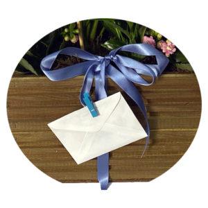 tarjeta regalo para flores