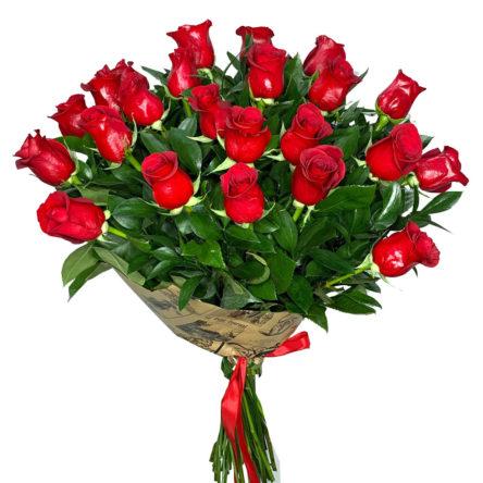 Ramo 24 Rosas Rojas Freedom