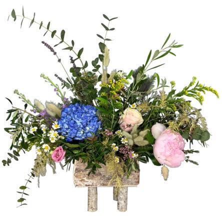 Centro de flores «O Grove»